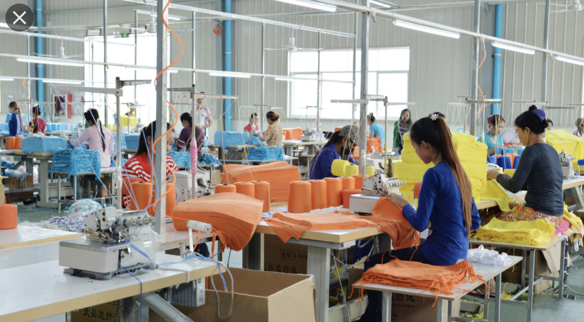 nhà xưởng khăn bông